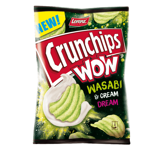 Crunchips WOW Wasabi